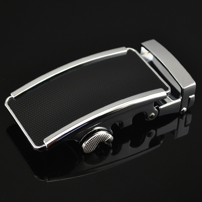 Genuine Men's Belt Head, Belt Buckle, Leisure Belt Head Business Accessories Automatic Buckle 3.5CM Luxury Fashion LY125-0736