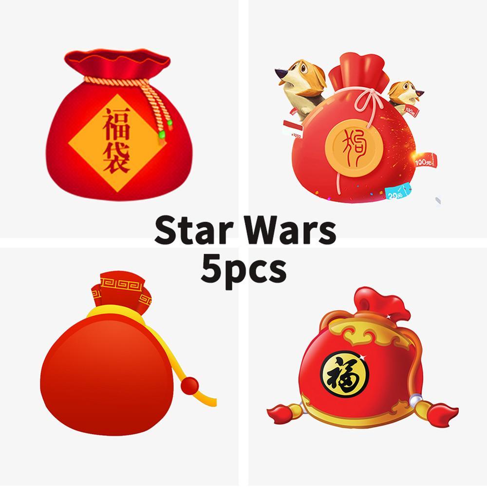 5 pçs única venda starwars stormtroopers clonetroopers snowtroopers deathtroopers bloco de construção compatível com star wars blocos