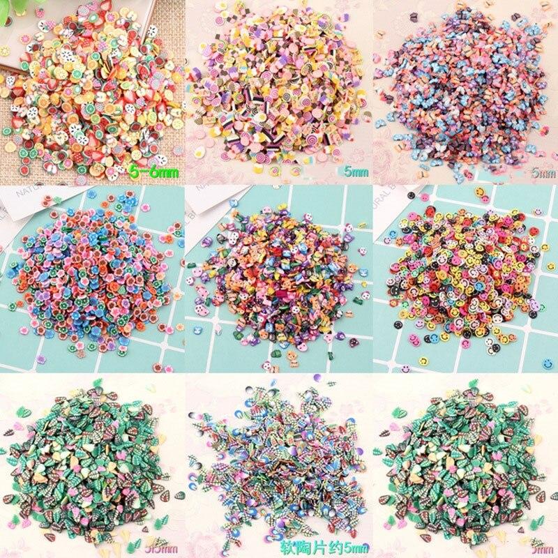 100g Slime arcilla asperja colorido Candy Fake pastel postre arcilla del polímero de Fimo Diy azúcar simulación Dollhouse miniatura