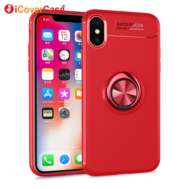 new product 1b422 40684 US $4.61 |Magnetic Rotating Ring Back Case Bracket For Apple Iphone X  Mobile Accessories Stand Car Phone Holder Cover Case For Iphonex Ten-in  Fitted ...