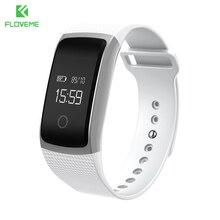 Floveme deportes muñequera pasómetro bluetooth 4.0 smart watch para ios android monitor de sueño pulsera reloj para iphone samsung
