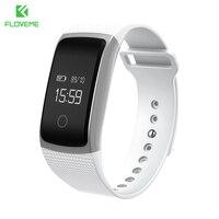 FLOVEME Sports Passometer Wristband Bluetooth 4 0 Smart Watch For Android IOS Sleep Monitor Bracelet Clock