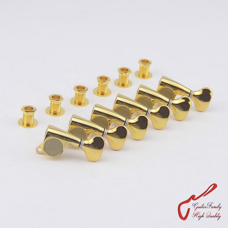 1 Set  Original Genuine 6 In-line GOTOH SGS510Z-S5  Guitar Machine Heads Tuners  ( Gold ) MADE IN JAPAN savarez 510 cantiga series alliance cantiga normal high tension classical guitar strings full set 510arj