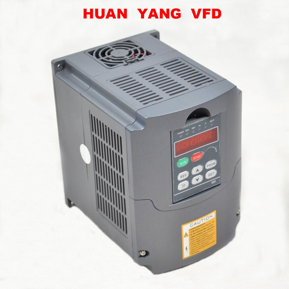 VFD inverter 4KW 220V vfd converter for SPINDLE MOTOR speed control