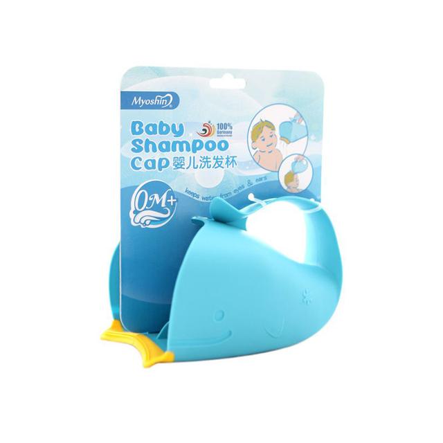 Banho de Xampu de bebê Colher Fiador Concha Aquaplanagem Crianças Xícara de Água Xícara Shampoo