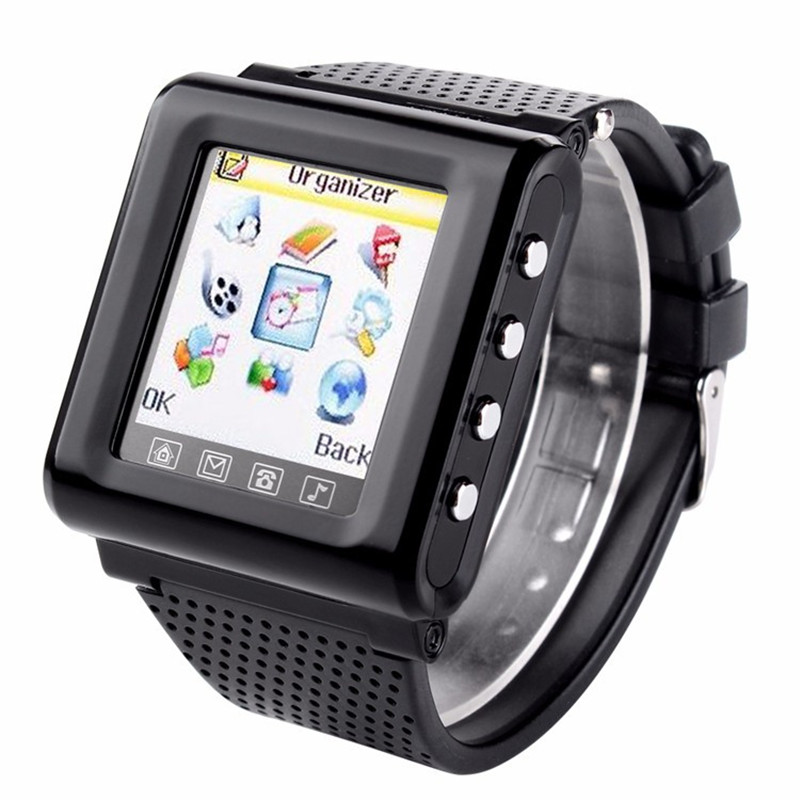 New gsm ak812 unlocked smart watch mobile phone for Telephone portable a touches