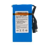 High Quality Over Charge Protective DC 12V 8000MAH Li Ion Super Rechargeable Battery Backup Li Ion