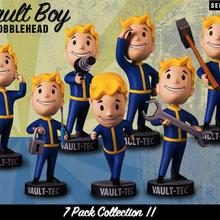 Gaming Heads Fallout 4 Bobblehead Cute Vault Boy Series 1 Action Figure