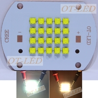 Cree XTE 100W Led White Warm White High Power LED The Thermoelectric Separation Cooper PCB For