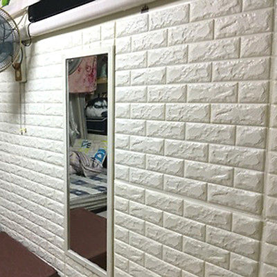 Foam tank picture more detailed picture about white 3d for 3d brick wall covering