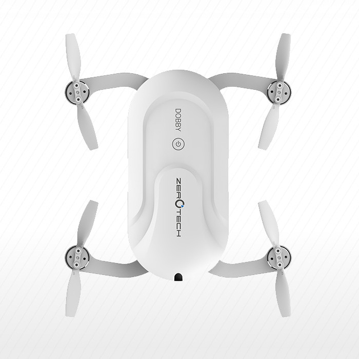 Professional ZEROTECH DOBBY Mini Selfie Camera Drone HD 13MP 4K Camera FPV WiFi APP Control Quadcopter Pocket Drone 13MP RTF genuine original xiaomi mi drone 4k version hd camera app rc fpv quadcopter camera drone spare parts main body accessories accs