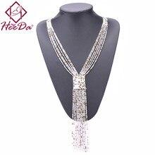 Новых бусы женские ожерелья в стиле бохо украшенные бусы украшенные длинные бусы День Святого Валентина подарок
