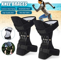 1 Pair Joint Support Knee Pads Breathable Climbing Pad Support Knee Pads Powerful Rebound Stabilizer Knee booster Outdoor