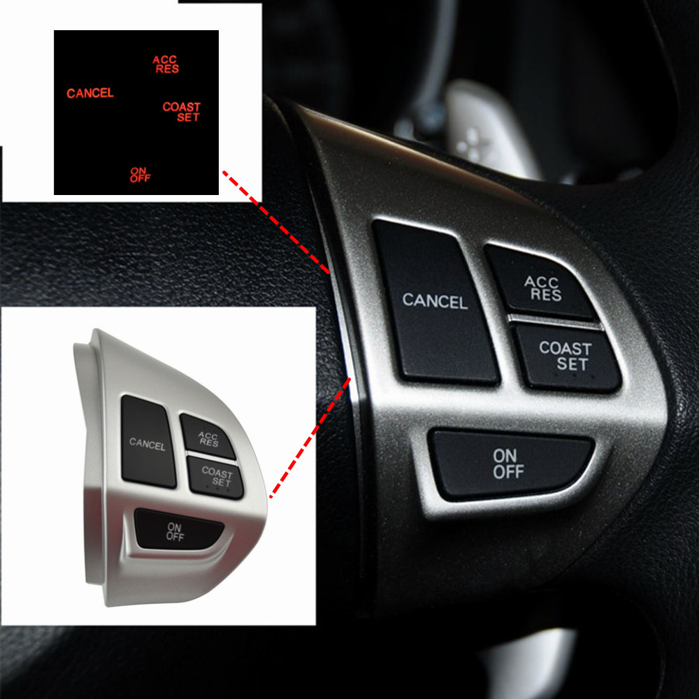 For Mitsubishi Laner(CX,CY) 2007-2014 Steering Wheel Cruise Control Buttons The Right Side Cruise Control Butto image