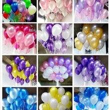 20pcs/lot 10inch 1.5g Black Pearl Latex Balloons Birthday Air Balls Inflatable Wedding Par