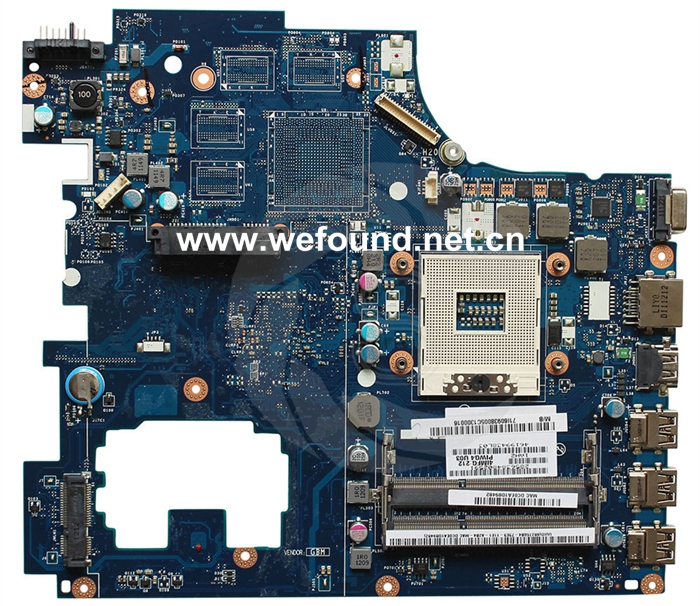 laptop Motherboard For G770 LA-6758P system mainboard, Fully Testedlaptop Motherboard For G770 LA-6758P system mainboard, Fully Tested