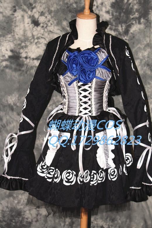 Vampire Knight Cross Yuki Dress Cosplay Costume