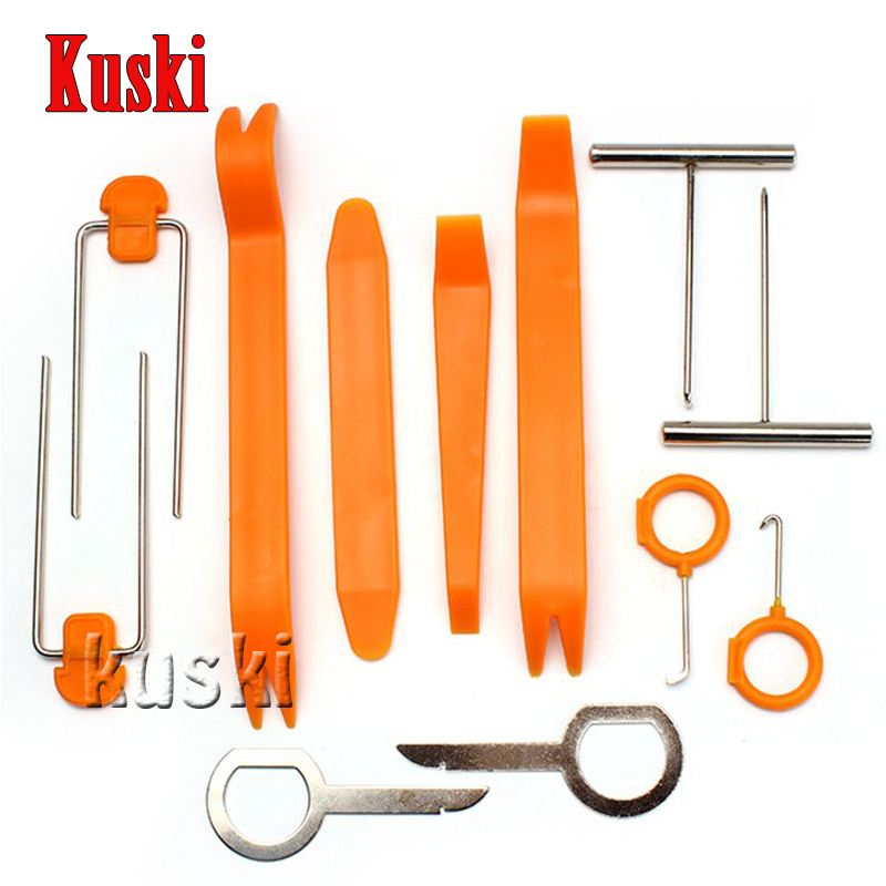 Car Styling 12pcs/set Removal Tool Sticker For <font><b>Volkswagen</b></font> VW Polo Passat B5 B6 CC <font><b>Golf</b></font> 4 5 6 <font><b>7</b></font> Touran T5 Tiguan Bora Accessories image