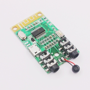 Image 2 - 2in1 Wireless Stereo Bluetooth Audio Receiver Transmitter Receptor 3.5MM AUX microphone For Amplifier headset Speaker DIY