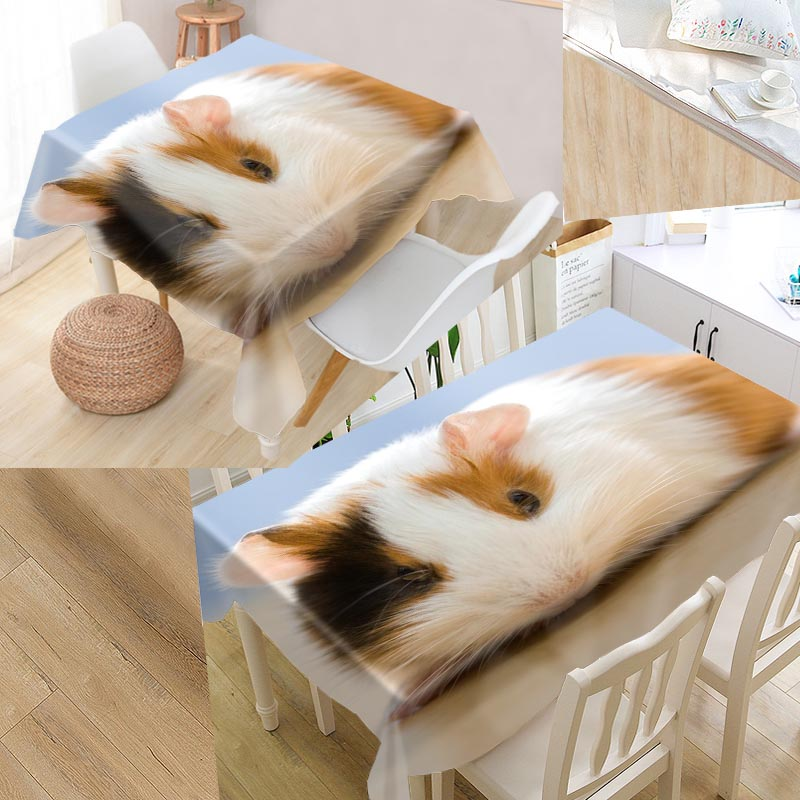 Guinea Pig Table Cover Rectangular