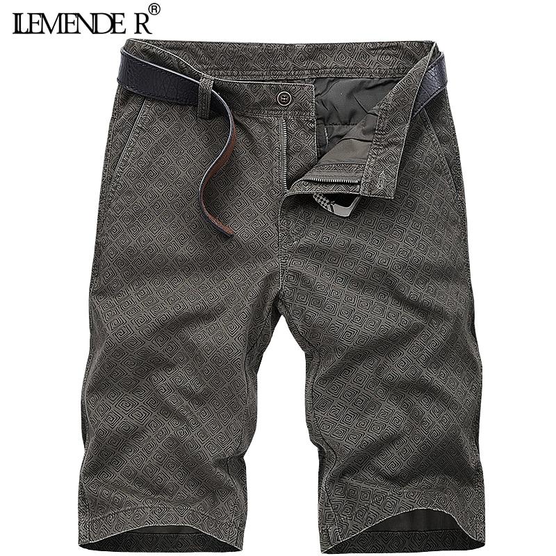 2018 Military Cargo Shorts Men Summer Cotton Loose Male Short Pants Thin Material Male Shorts Masculino homens