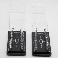 Dentistry Clinic Supply Orthodontic Acrylic Holder Case For Preformed Arch Wires