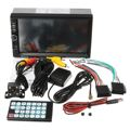 Bluetooth 7 Pulgadas Doble 2Din En El Tablero de Coches Reproductor MP5 Con Pantalla Táctil de Radio FM Estéreo USB 87.5 MHz ~ 108.00 MHz
