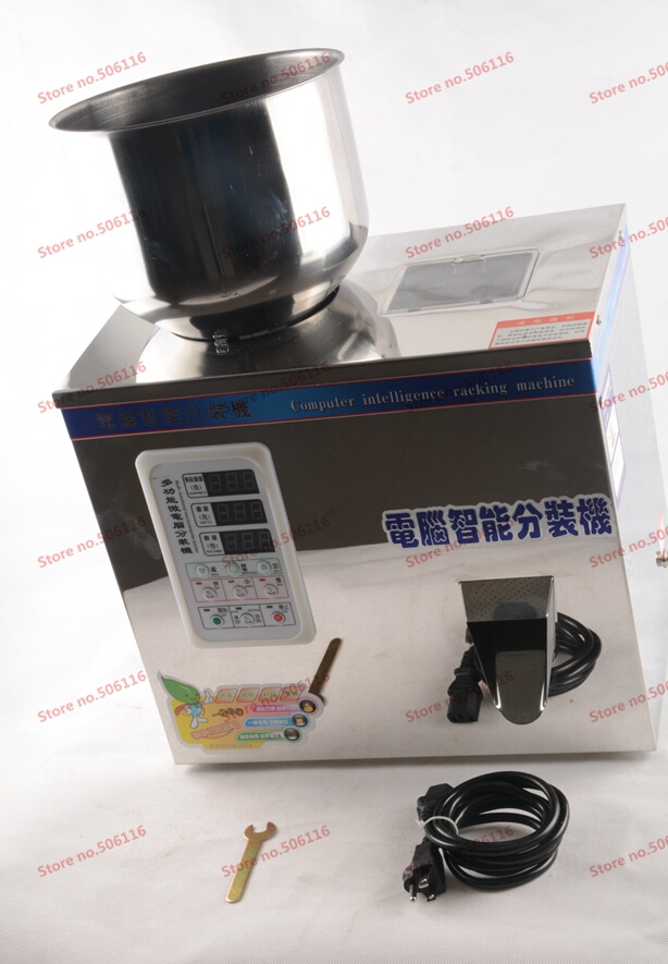 2-200 grams of quantitative machines, automatic powder filling scale  machine, Medicine filling machine food filling machine computer intelligence racking machine