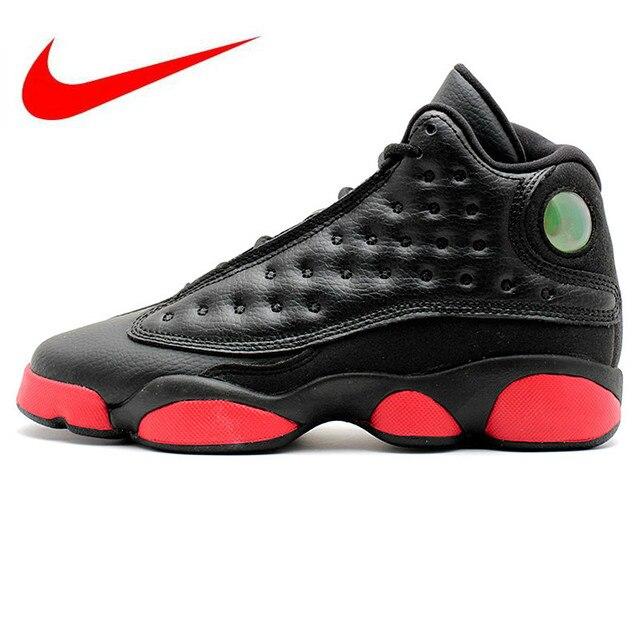 timeless design 11393 ba66f Original Nike AIR JORDAN 13 RETRO BG Dirty Men s Basketball Shoes ,  Original Basketball Outdoor Sneakers 414574-003