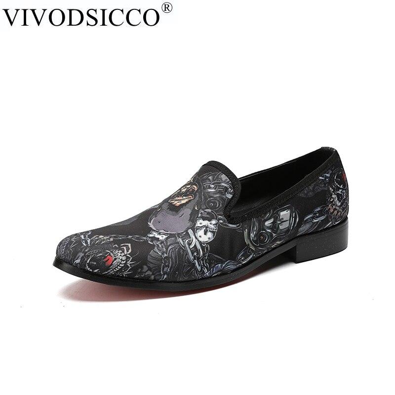 Здесь продается  VIVODSICCO Luxury Men Shoes Black Leather Men