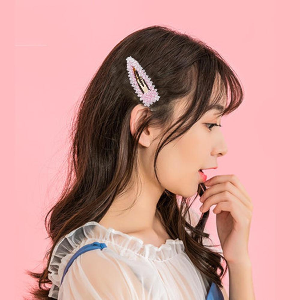 Hairpin Side Clipe Ins Menina Coreia Do