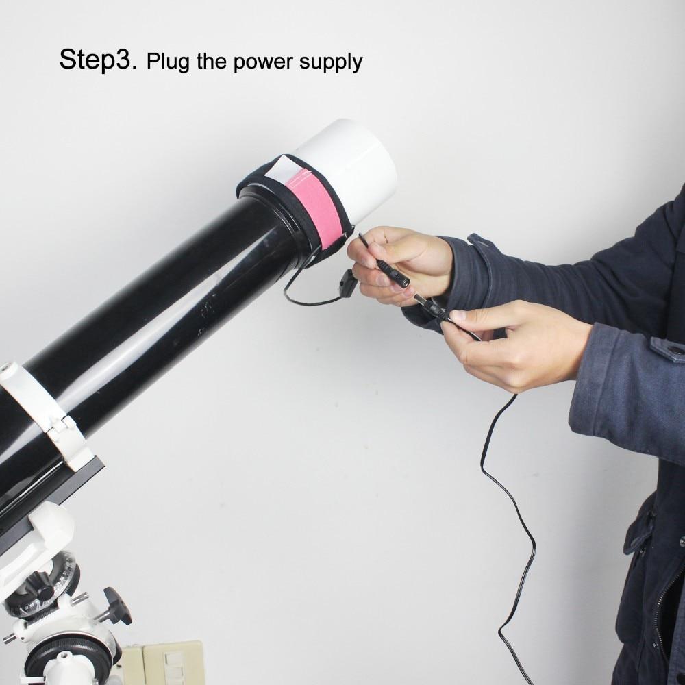 Telescópio premier da tira do calefator da