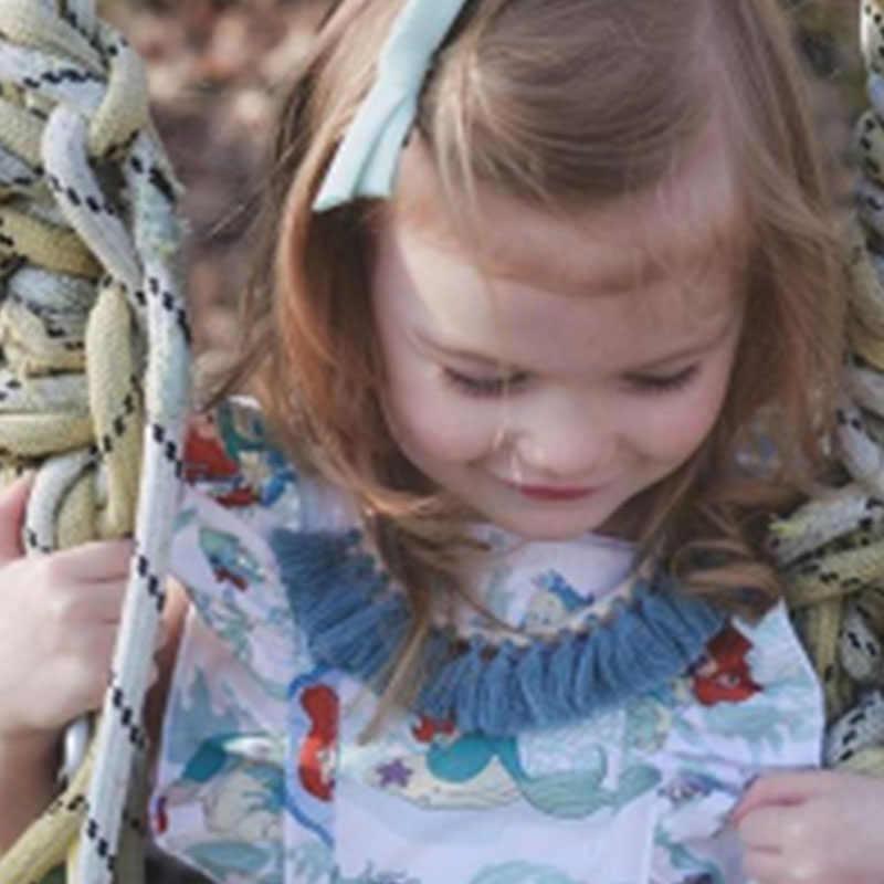 2019 אופנה ילדים שמלות בנות שמלת ילד nununu מותג 100% כותנה ילדי תלבושות ילדים קיץ שמלת פעוט