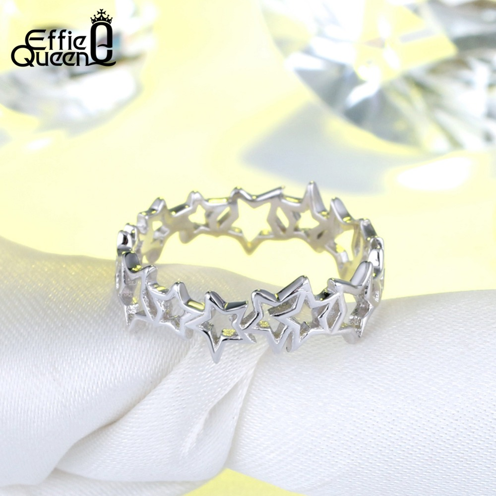 Anniversary Wedding Band Silver Girl Jewelry 1