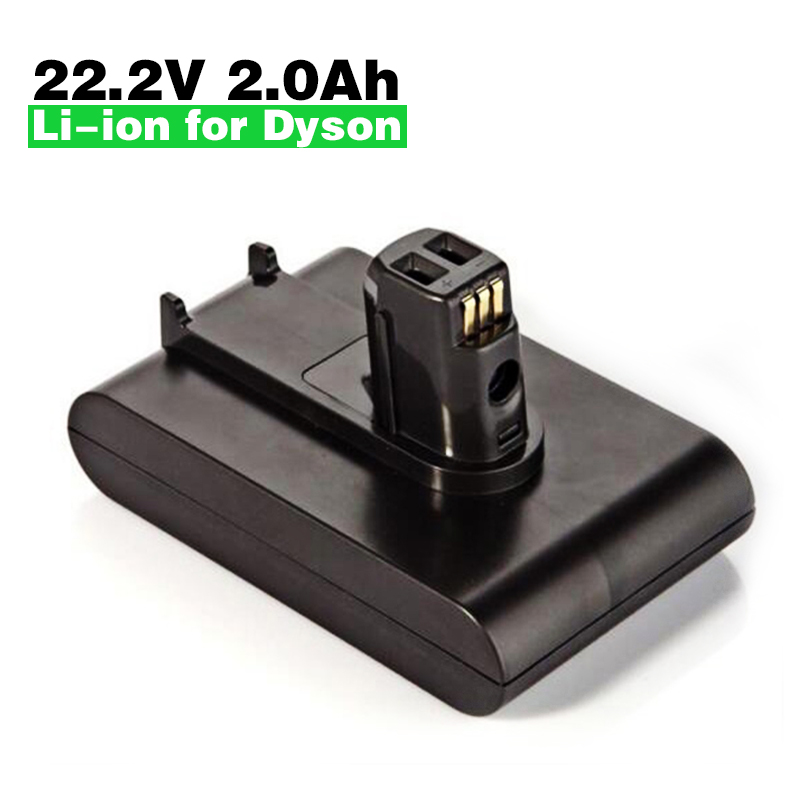 New Replacement 22.2V 2000mAh Li-Ion Battery for Dyson DC31 DC34 DC35 917083-05 Vacuum Cleaner Rechargeable Battery high quality 2pcs new 21 6v 2800mah rechargable li ion battery for dyson v8 vacuum cleaner