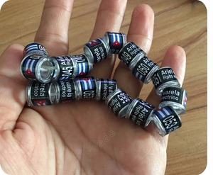 Image 2 - Anelli di piccione anello di uccello Nero con personale di personalizzazione anello di alta qualità 8mm interno formato degli anelli