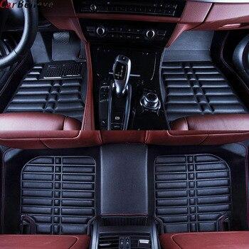 Car Believe car floor Foot mat For peugeot 5008 308 307 508 301 407 408 206 207 308sw 307sw waterproof accessories carpet peugeot 307 aksesuar