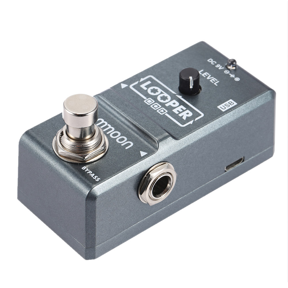 hot electric guitar effect pedalloop effect looper true bypass unlimited overdubs 10 minutes. Black Bedroom Furniture Sets. Home Design Ideas
