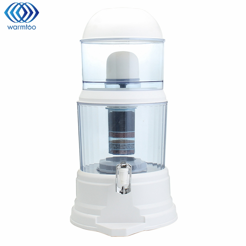 Household 16L Water Purifier 6 Stage Water Filter System Alkaline Purification Activation Water Cleaning Pitcher Office Use water purification filter stage stainless steel water purifier 0 01micron filter drinking water for household
