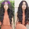7A Pelo Sin Procesar Virginal 3 Paquetes Peruana Virginal Del Cuerpo Del Pelo Vip Belleza onda del Cuerpo Peruano del pelo Humano de la Onda del Pelo Bundles onda
