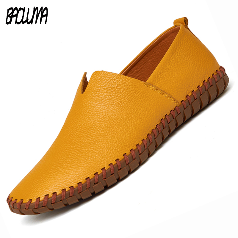 c50d98c9d9a Men Leather Sneakers Loafers Designer Shoes Flats Tassel Retro Slip-on Breathable  Shoes Comfortable Loafers Shoes Men Oxford