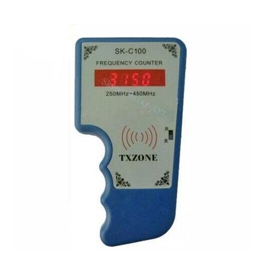 imágenes para OBD2tool SK-C100 Indicador Cimómetro Contador de Frecuencia 250 mhz-450 MHZ Control Remoto Escáner Detector de Frecuencia Del Transmisor