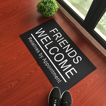 Custom Made Doormat Entrance Floor Mat Friends Welcome Relatives By Appointment Funny Door Indoor Outdoor Decorative