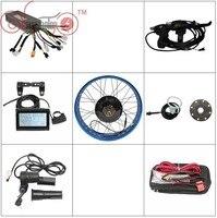 شحن مجاني conhismotor البريد الدراجة 36 فولت 48 فولت 1000 واط الدهون الاطارات عجلة الخلفية 20
