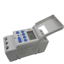 THC15A timing automatic switch microcomputer time controller, rail type distribution box control DZ47 35