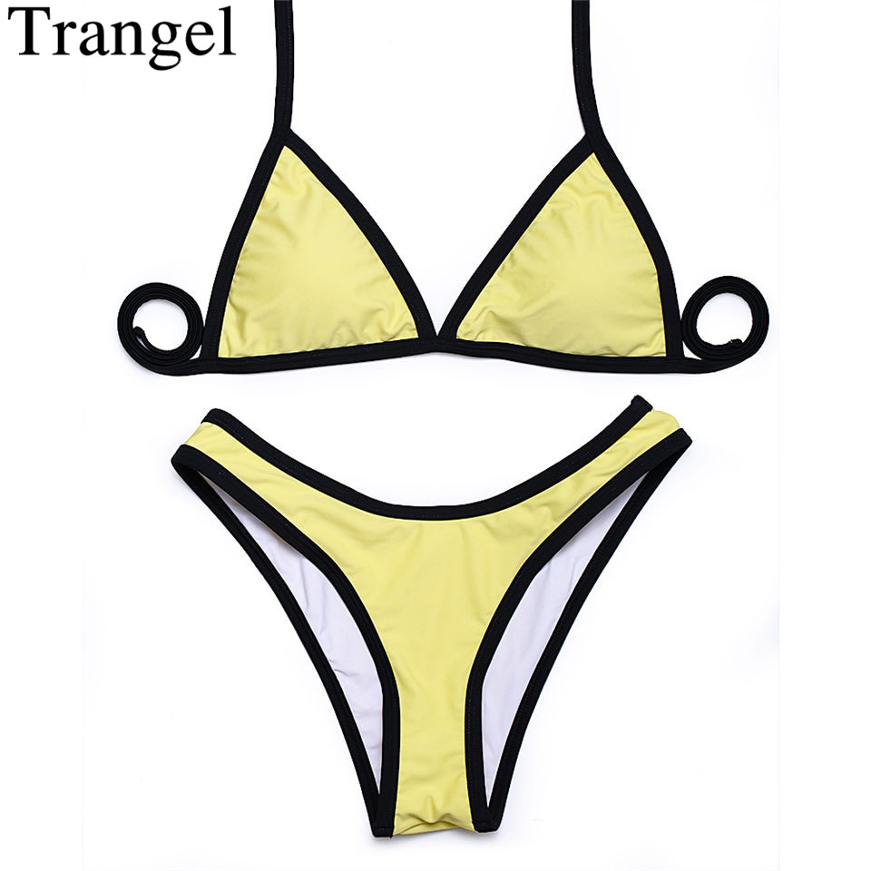 brazilian cut bikinis מוצר trangel high cut bikinis 2018 new arrival sexy