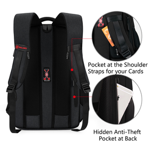 Image 2 - BALANG Brand 2019 New Laptop Backpacks for 15.6 inch Men Backpacks for Teenagers Waterproof Backpack School Bags Travel Backpack