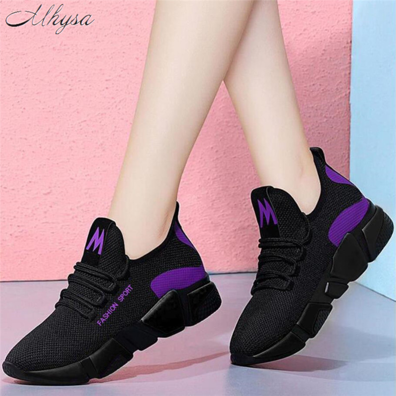 2019 new womens vulcanize shoes spring fashion comfortable breathable mesh shoes ladies casual lace-up  shoes woman sneakers L32019 new womens vulcanize shoes spring fashion comfortable breathable mesh shoes ladies casual lace-up  shoes woman sneakers L3