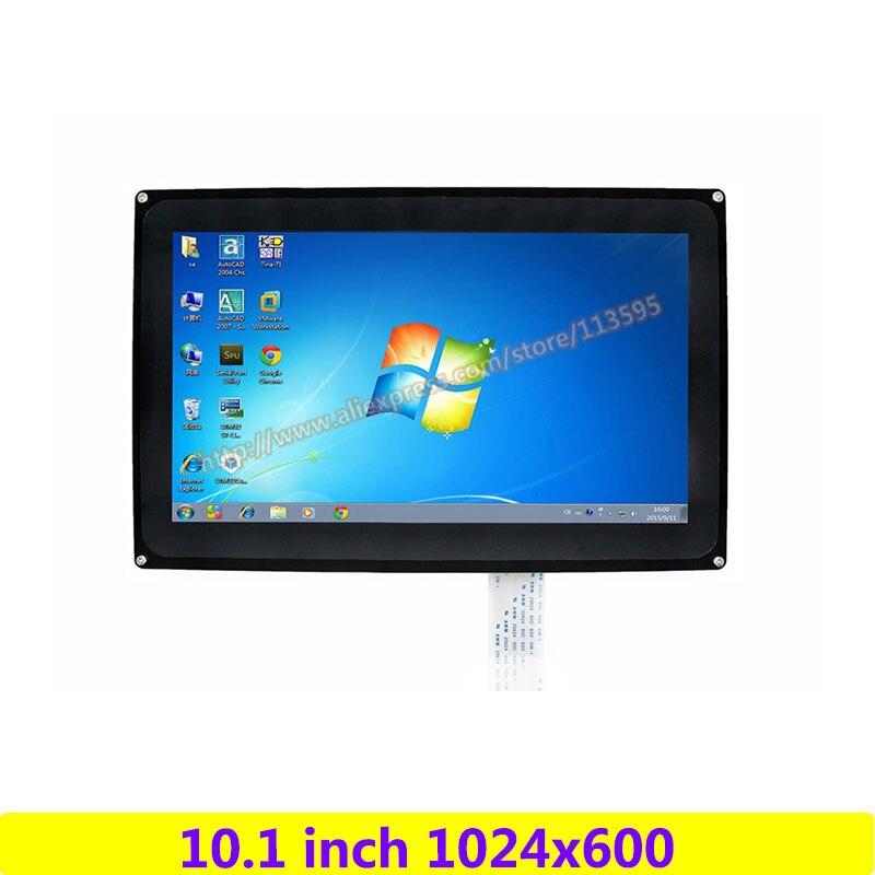 Raspberry Pi 10.1 pouces 1024x600 écran tactile capacitif LCD (H) panneau de démonstration prise en charge multi-mini-pcs/systèmes/Interfaces vidéo
