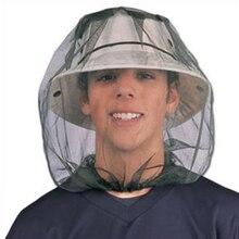 Уличная Рыболовная Шапка Midge Москитная шляпа от насекомых рыболовная шляпа анти-ошибка Москитная сетка для головы Защита лица дорожные шляпы для кемпинга